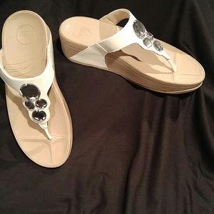 Fitflop Lunetta Urban White Sandal